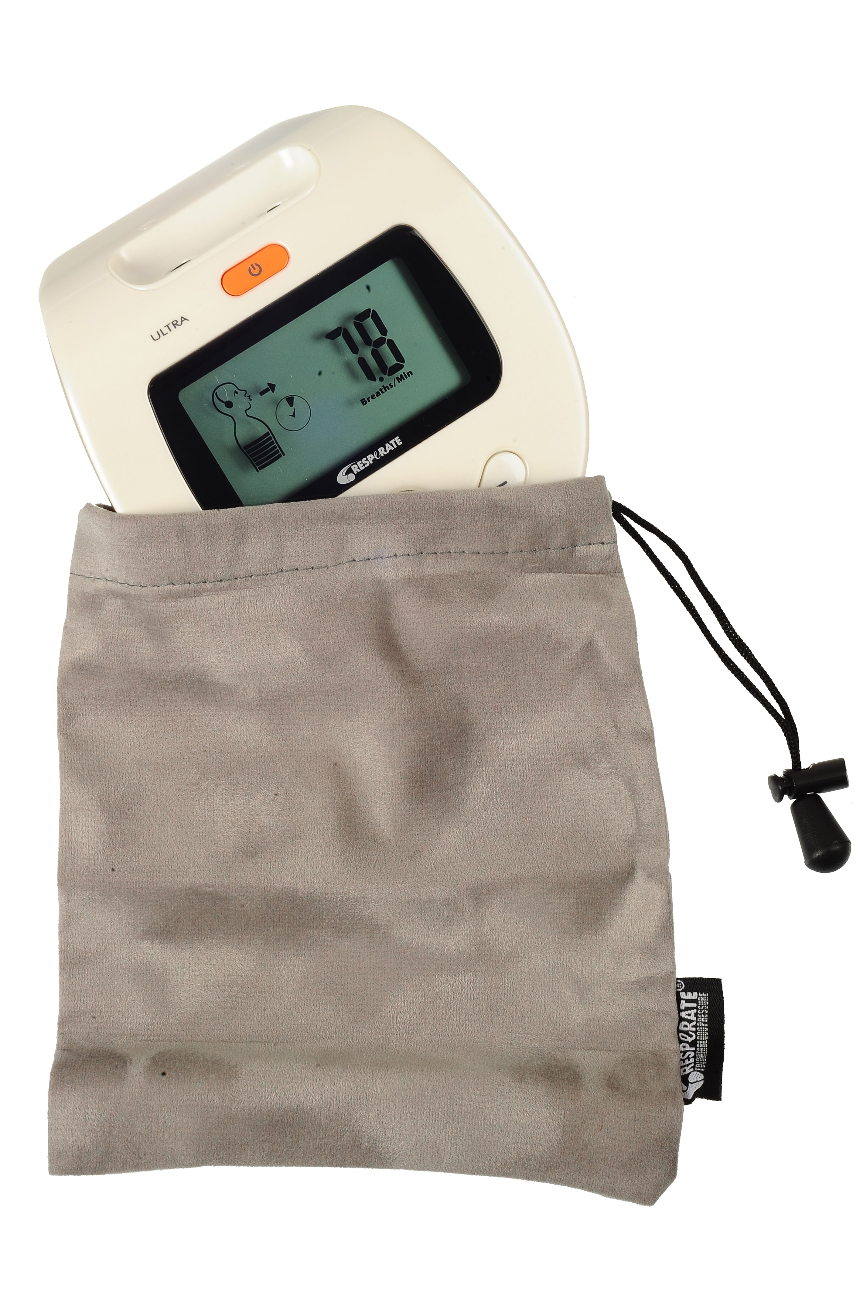 RESPeRATE device in pouch